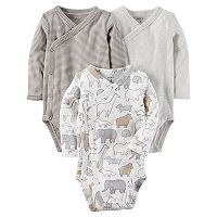 Baby Carter's 3-pk. Side-Snap Bodysuits