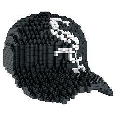 Forever Collectibles Chicago White Sox BRXLZ 3D Baseball Cap Puzzle Set