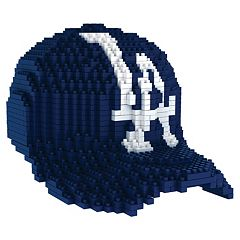 Forever Collectibles Los Angeles Dodgers BRXLZ 3D Baseball Cap Puzzle Set