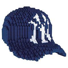 Forever Collectibles New York Yankees BRXLZ 3D Baseball Cap Puzzle Set