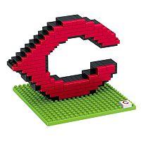 Forever Collectibles Cincinnati Reds BRXLZ 3D Logo Puzzle Set