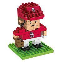 Forever Collectibles St. Louis Cardinals BRXLZ 3D Mini Player Puzzle Set
