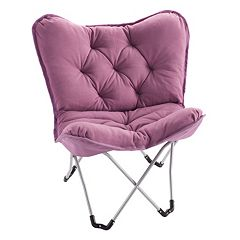 Click here to buy Simple By Design Memory Foam Butterfly Chair .