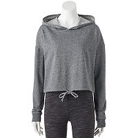 Juniors' SO® Perfectly Soft Cropped Long Sleeve Hoodie