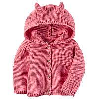 Baby Girl Carter's Textured Sweater