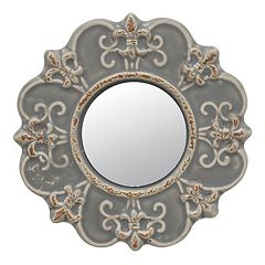 Stonebriar Collection Ceramic Wall Mirror  by