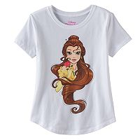 Disney Princess Belle Girls 7-16 Graphic Tee