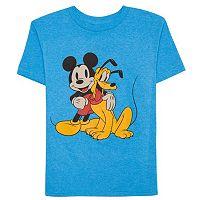Disney's Mickey Mouse & Pluto Boys 4-7 Graphic Tee
