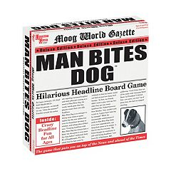 Man Bites Dog Deluxe Edition Game by University Games by