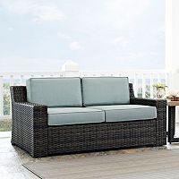 Crosley Furniture Beaufort Patio Loveseat