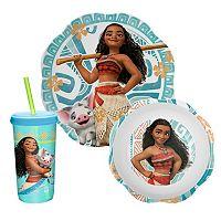 Disney's Moana 3-pc. Dinnerware Set by Zak Designs