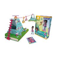 GoldieBlox Ruby's Sky-High Cable Car Construction Toy