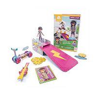 GoldieBlox Val's Level-Up Skate Park Construction Toy