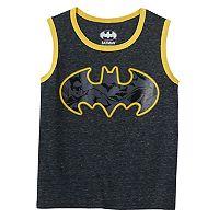 Boys 4-7 DC Comics Batman Space-Dyed Tank Top