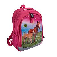 Girls John Deere Photoreal Horse Backpack