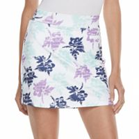 Women's Pebble Beach Floral Print Skort