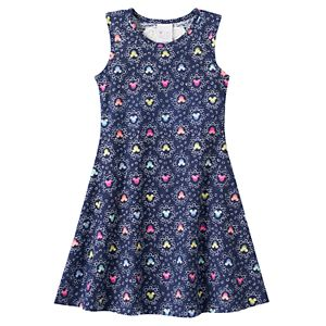 Disney's Minnie Mouse Girls 4-7 Racerback Heart Skater Dress by Jumping Beans®