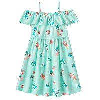 Disney's The Little Mermaid Girls 4-7 Ariel Off-The-Shoulder Dress by Jumping Beans®
