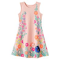 Disney / Pixar Finding Dory Toddler Girl Nemo & Dory Heart Cut-Out Dress by Jumping Beans®