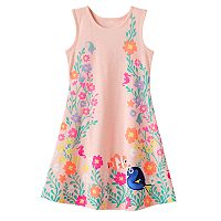 Disney / Pixar Finding Dory Girls 4-7 Nemo & Dory Heart Cut-Out Dress by Jumping Beans®