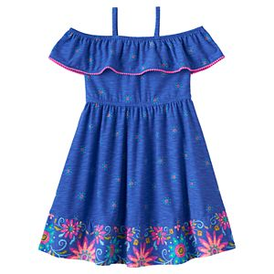 Disney's Elena of Avalor Girls 4-7 Off-The-Shoulder Ruffle Dress by Jumping Beans®