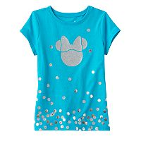 Disney's Minnie Mouse Girls 4-10 Glitter Graphic Tee by Jumping Beans®