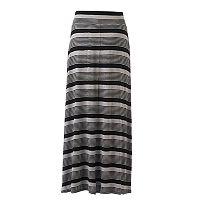 Women's Studio 253 Striped Maxi Skirt