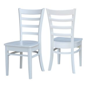 International Concepts Emily Dining Chair 2-piece Set