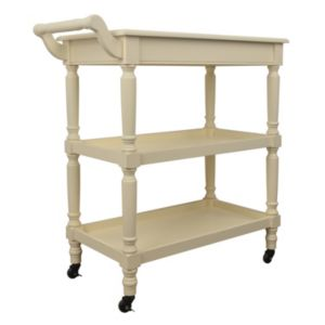 Decor Therapy Traditional Rolling Bar Cart