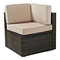 Crosley Furniture Palm Harbor Patio Corner Chair