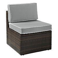 Crosley Furniture Palm Harbor Armless Patio Chair