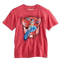 Boys 8-20 Optimus Prime Transformers Tee