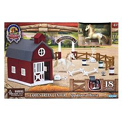 Blue Ribbon Champion Horses 1:32 Equestrian Center Appaloosa Horse Set by