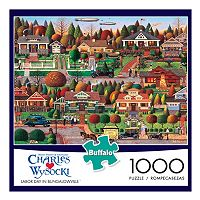 Buffalo Games 1000-pc. Charles Wysocki Labor Day in Bungalowville Jigsaw Puzzle