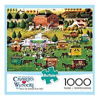 Buffalo Games 1000-pc. Charles Wysocki Rally at Dandelion Mill Jigsaw Puzzle