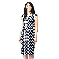 Women's ILE New York Circle Midi Dress