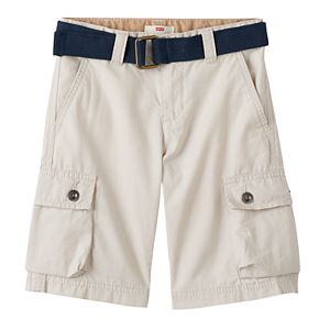 Boys 4-7x Levi's Belted Rip-Stop Cargo Shorts