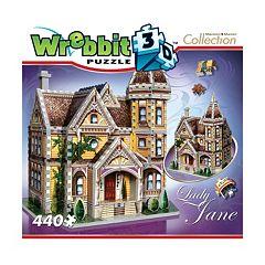 Wrebbit 440-pc. Mansion Collection Lady Jane 3D Puzzle