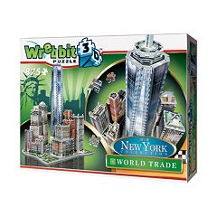 Wrebbit 875-pc. New York Collection World Trade 3D Puzzle by