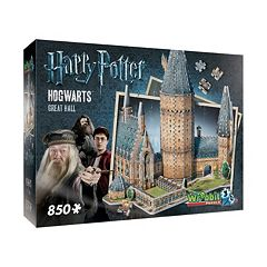 Harry Potter Collection 850-pc. Hogwarts Great Hall 3D Puzzle by Wrebbit by