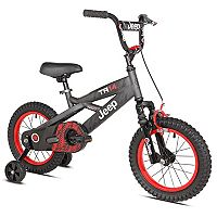 Boys Jeep 14-Inch TR14 Bike with Training Wheels