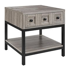 Altra Barrett 1-Drawer End Table by