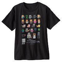 Boys 8-20 Minecraft Sprites Tee