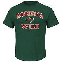 Big & Tall Majestic Minnesota Wild Team Color Tee