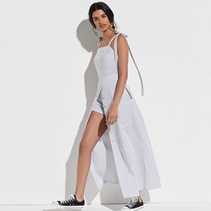 k/lab Tie Shoulder Maxi Romper