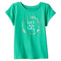 Baby Girl Jumping Beans® St. Patrick's Day Tee