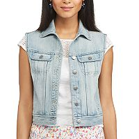 Women's Chaps Jean Vest