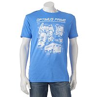 Men's Optimus Prime Transformers Tee