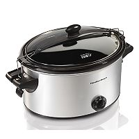 Hamilton Beach 6-qt. Stay or Go Slow Cooker
