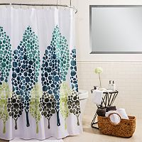 Splash Home Dasos Shower Curtain